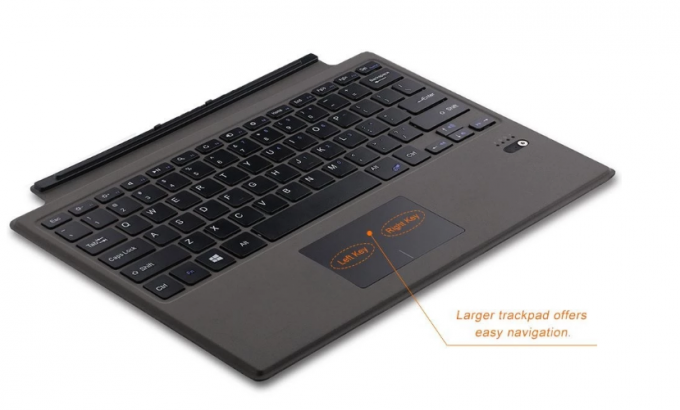 Multi Color Optional Surface Pro Wireless Keyboard With Backlight And Bluetooth