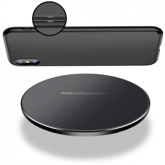 Ultra Thin Slim  Wireless Phone Charger For IPhone X / Samsung Galaxy Note 8