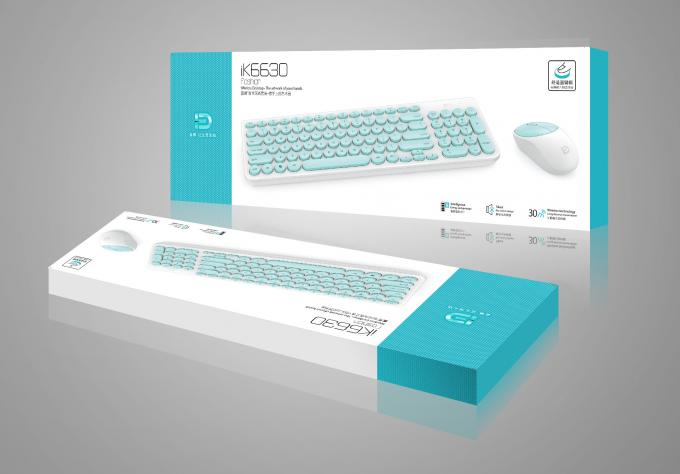 Energy Saving Mechanical Gaming Keyboard With Office Mute Punk Keycap