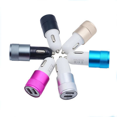 China Colourful Mobile Phone Fast Car Charger Pure Copper With Good Electrical Conductivity supplier
