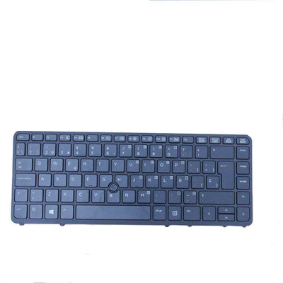 Spanish Layout HP Laptop Keyboard For HP Elitebook 840 G1 850 G1 840 G2 850 G2