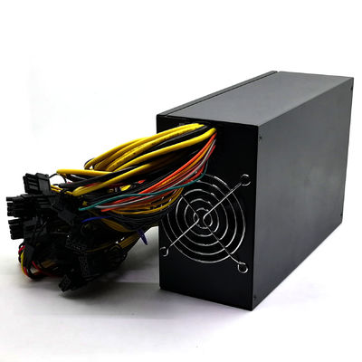 China Multiplex Active PFC Desktop Power Supply Unit Double Fan For Bitcoin Mining Machine factory