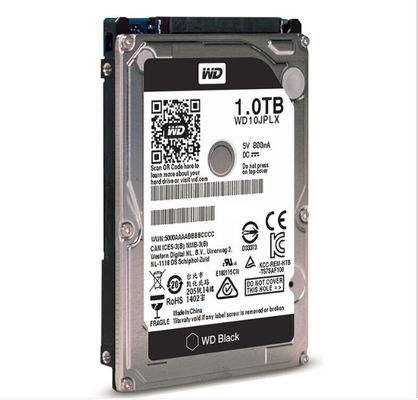 "WD​ 2.5"" 1TB HDD 7200 RPM Internal Hard Disk Drive SATA Interface For Laptop"